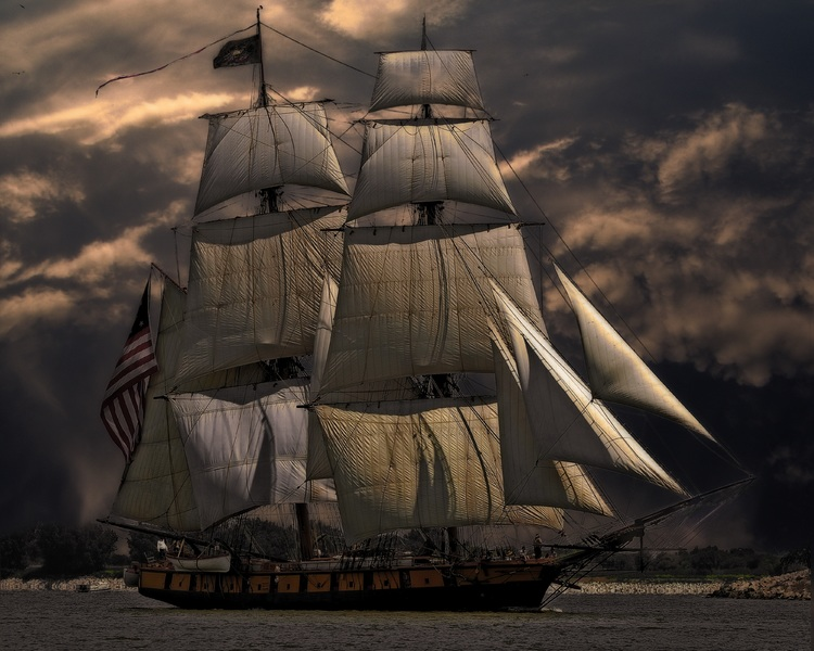 ship for Columbus Day